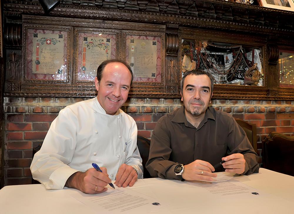 IEl Mesón Cándido vuelve a mostrar su apoyo  a la Prensa Deportiva de Segovia