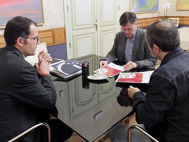 ILa Diputación cede el Teatro Juan Bravo a la Asociación de la Prensa Deportiva para celebrar la Gala del Deporte